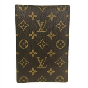 Louis Vuitton Monogram Passport Travel Case Wallet